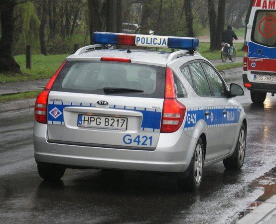 """Policja Olkusz: By na drodze było bezpiecznie  - policyjne działania """"Boże Ciało 2019"""""""